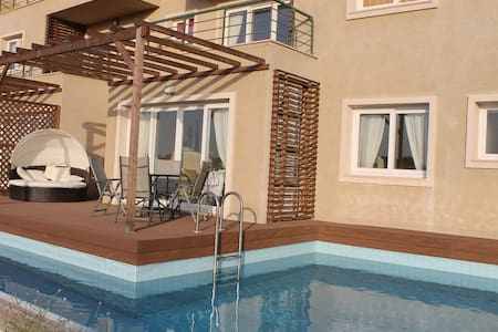 Stunning luxury apartment with pool - Bafra