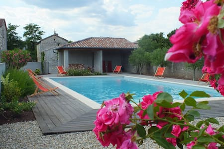 Maison ardéchoise  en pierre  - Berrias-et-Casteljau - Haus