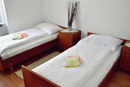 Room 1 (2 bed with common bathroom) - Žirovnica - Bed & Breakfast