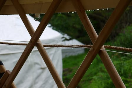 Yurt 2. Simple 13ft with sea views - Yourte