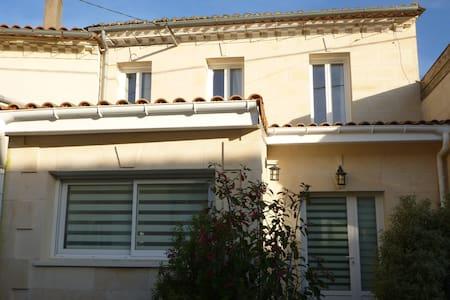 Maison pour 4/6, proche St Emilion - Maison