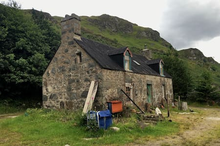 Croft House Bothy B&B in Heart of Highlands - Huis