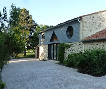 Gite rural 5 pers.110 m², 2 chambres,jardin 3000m² - Haus