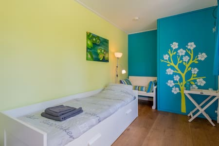 cosy room 1 or 2 bed near amsterdam - House