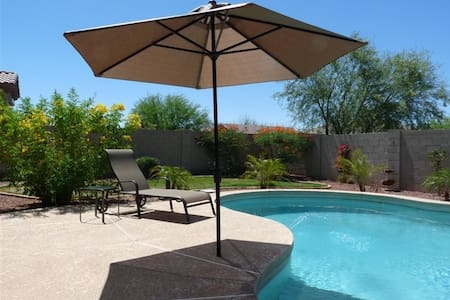 Estrella Mtn. Resort Home with pool - Goodyear
