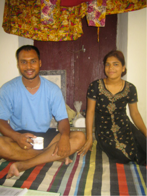 Me (Akshay) and my younger sister Tina
