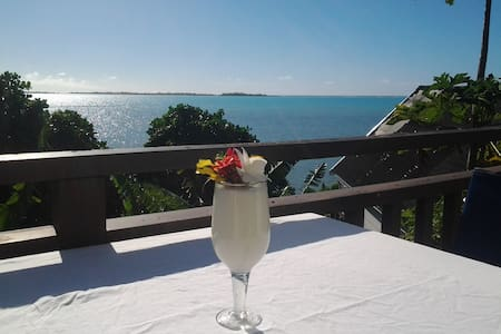 Peaceful Bungalow with Sea Views - Aitutaki - Bungalow