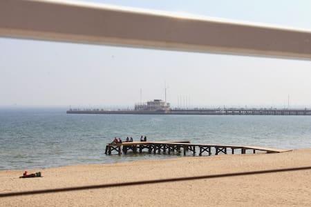 Perfect located beach apartment