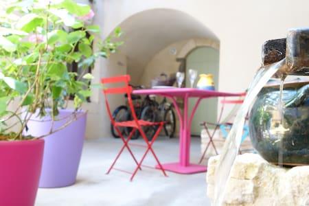 Très bel appt. dans joli village - Saint-Victor-la-Coste - Appartement