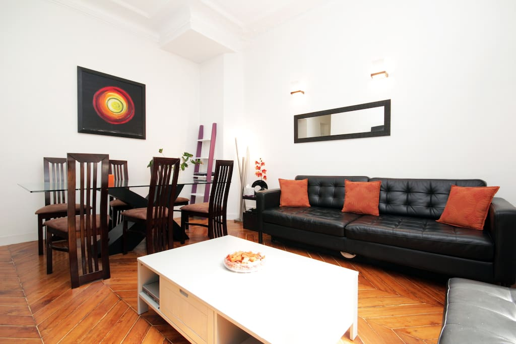 2 bedrooms apt  Paris City Center