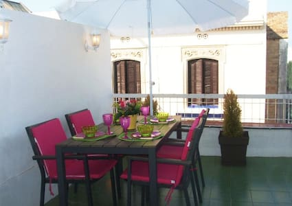 PENTHOUSE IN THE HEART OF SITGES