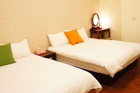 暖暖家庭房_桑斯緹花蓮市區臨海套房_ Suncity-Family Room - Hualien City - Lägenhet