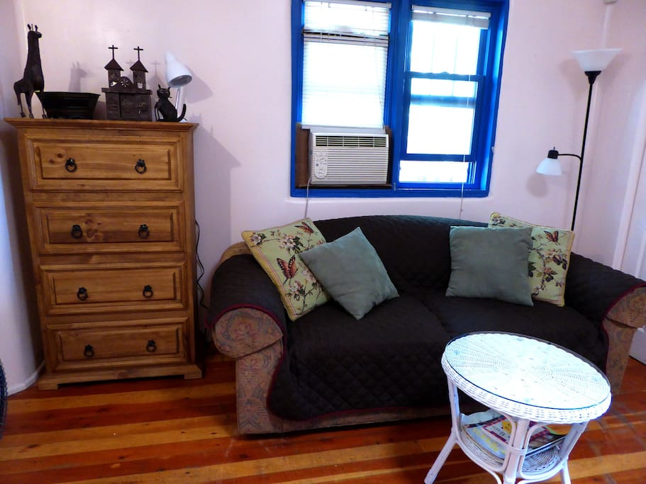 Chest of drawers and Ethan Allen sofa bed