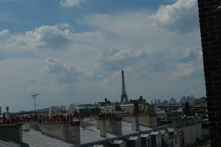 Rooftop Air-Conditioned/Heated Nest in 6th - Paris - Lejlighed