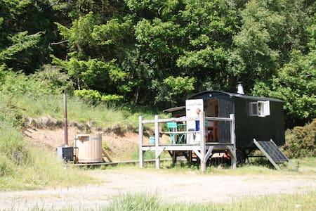 Gorgeous Gypsy Van & Hot Tub - Llangadog