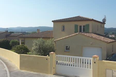 Bas de villa avec piscine - Cazilhac - Villa