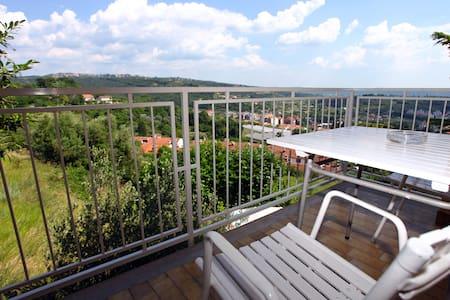 SB24 Room with balcony & city view - Lucija - Bed & Breakfast
