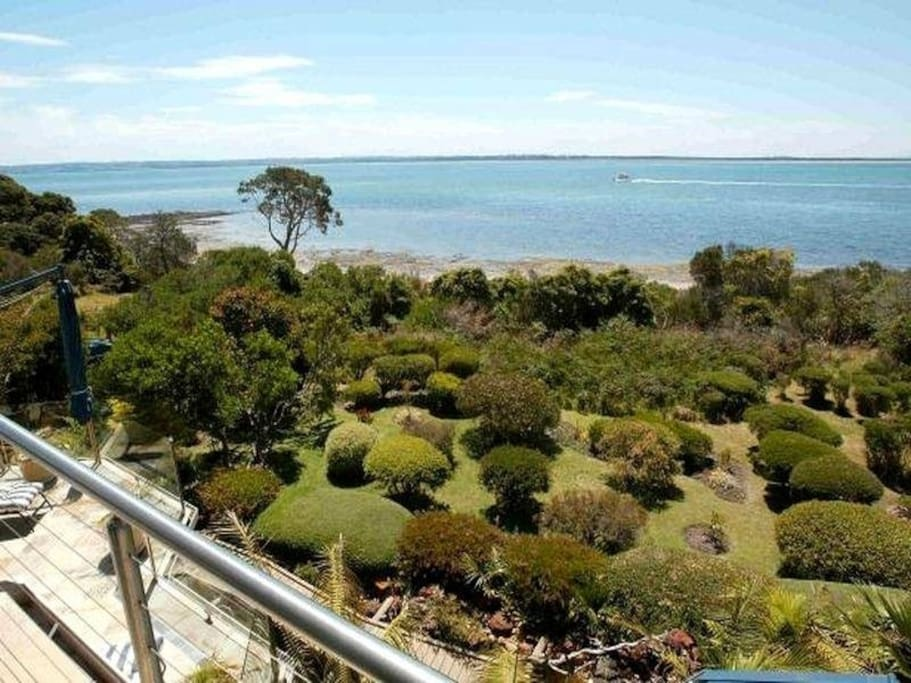 View From Second Story Balcony