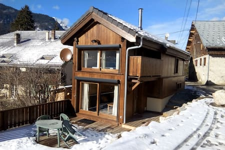 Cosy chalet in wood, near Morzine - Talo