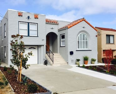 Brand-new in-law apartment in Millbrae, California - Millbrae - Wohnung