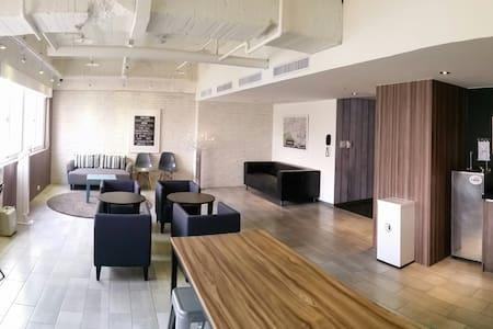 歡樂的宿舍空間(不含早餐)近台中車站 - Central District - Hotel boutique