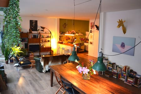 Spacious Loft (90m2) City Centre Amsterdam - Amsterdam - Appartement