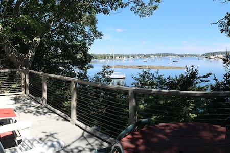 The Rock Cottage at Harborfields on the Shore - Boothbay Harbor - Cabane