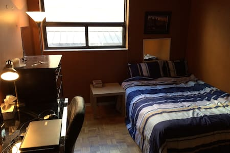 Private Room - Double Bed - Toronto - Condominium