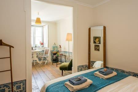 cute double room in HEART of LISBON