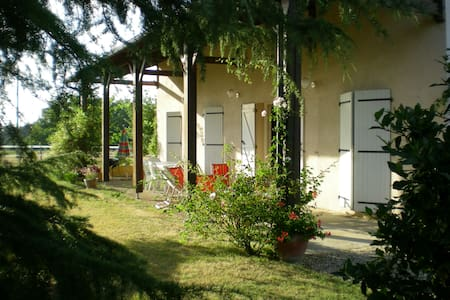 Maison à la campagne avec vue