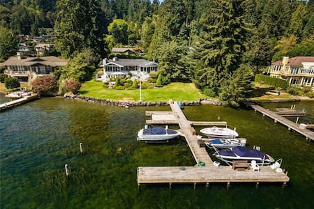 Luxury Lakeview Retreat - Mercer Island - Villa