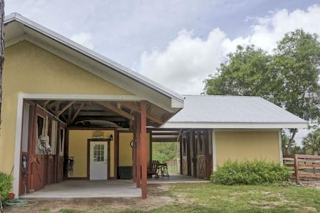 Stay and Stall for horse and rider! - Loxahatchee - Haus