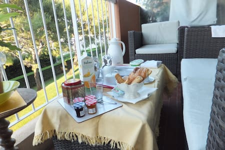Charmante chambre double en Antibes - Antibes - Apartment