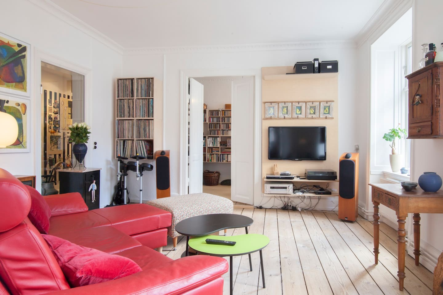 Downtown cosy, spacious apartment