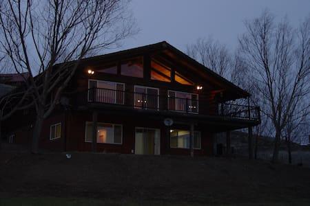 Bed, Barn, Breakfast Log Home 50 acres rural Idaho - White Bird