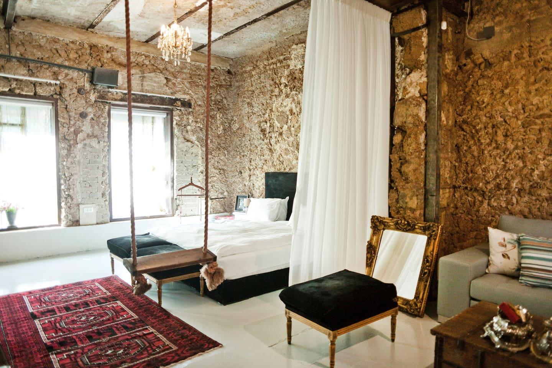 family room - bedroom