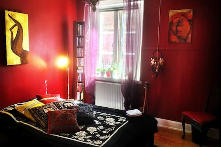 Room in Center of Gothenburg - Haga - Gothenburg - Apartment