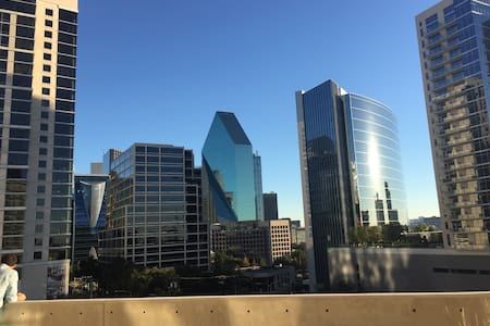 Private Terrace with Downtown View - Dallas - Wohnung