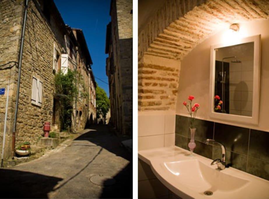 La vue de cette chambre + ensuite salle de bain privé