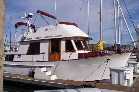 Stay on a boat in SFO Bay
