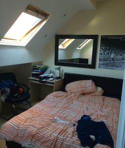 Light double room in friendly flat