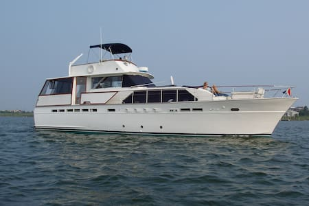 60' Yacht in Private Marina - Patchogue - Barco