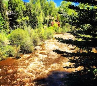 Aspen Core condo on the river
