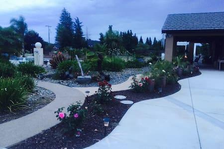 Beautiful Poolside Garden Retreat - Haus