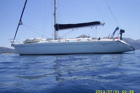 Sailing Boat in Greece - Plataria - Boot