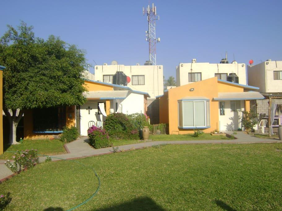 villas y jardin