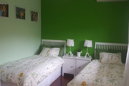 Beautiful twin bedroom in a luxury house - Villaviciosa de Odón
