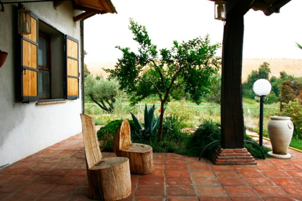 Tuscania, house in the country