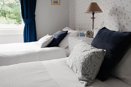 Luxury Twin bedroom in Alnwick - Bed & Breakfast