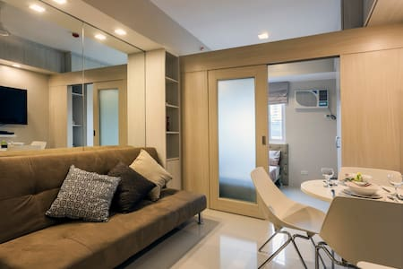 Cozy 1BR condo on top Mall & Train in Mandaluyong. - Manila - Kondominium